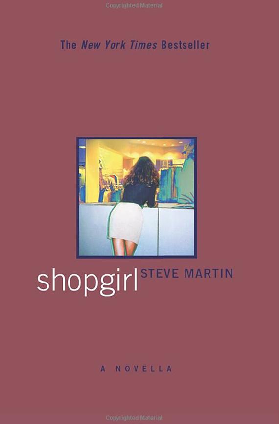Shopgirl book cover