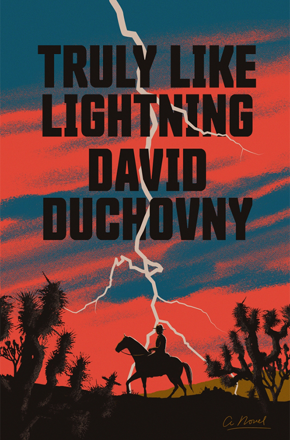 Portada del libro Truly Like Lightning.
