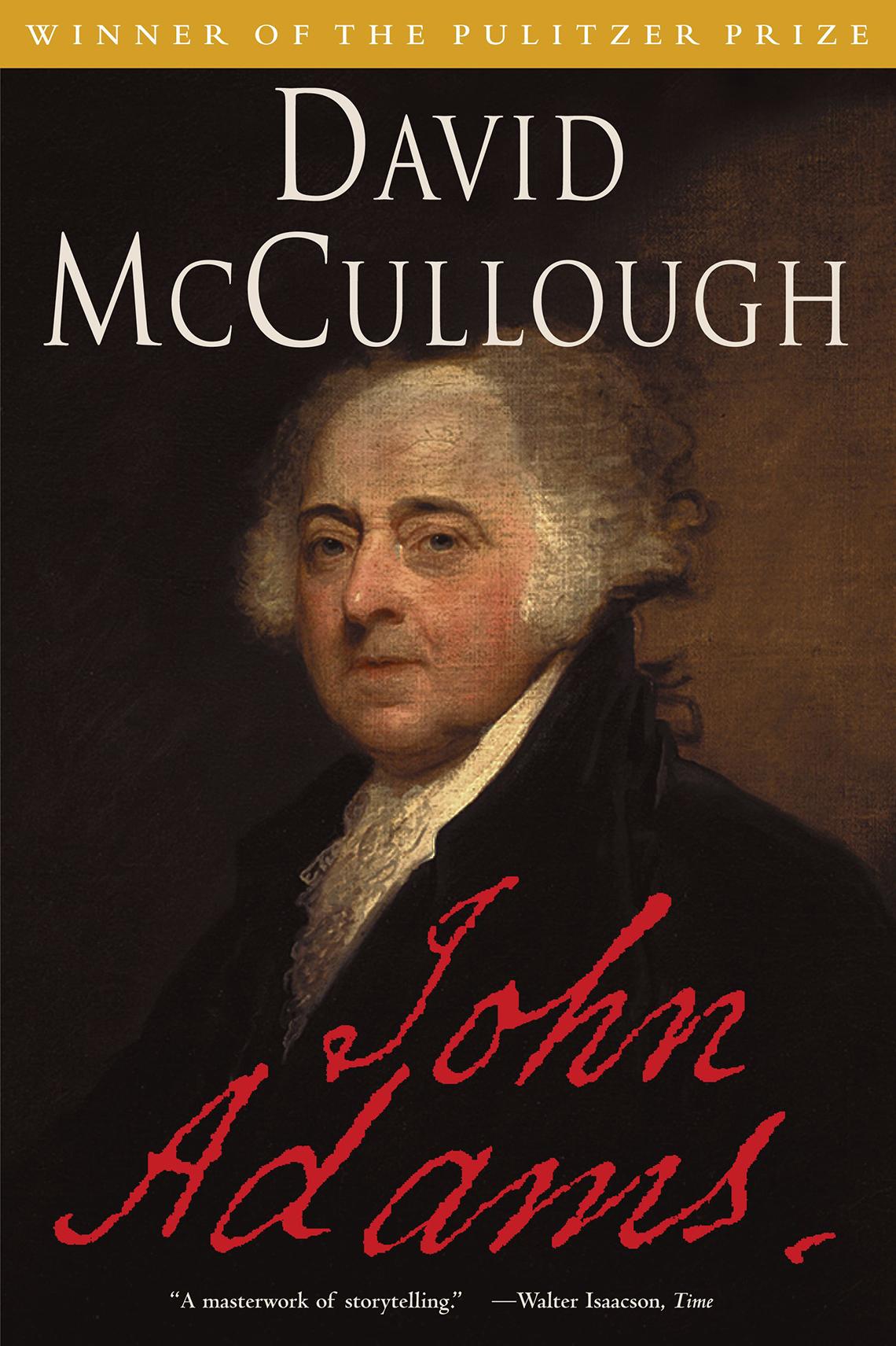 john adams a book by david mccullough