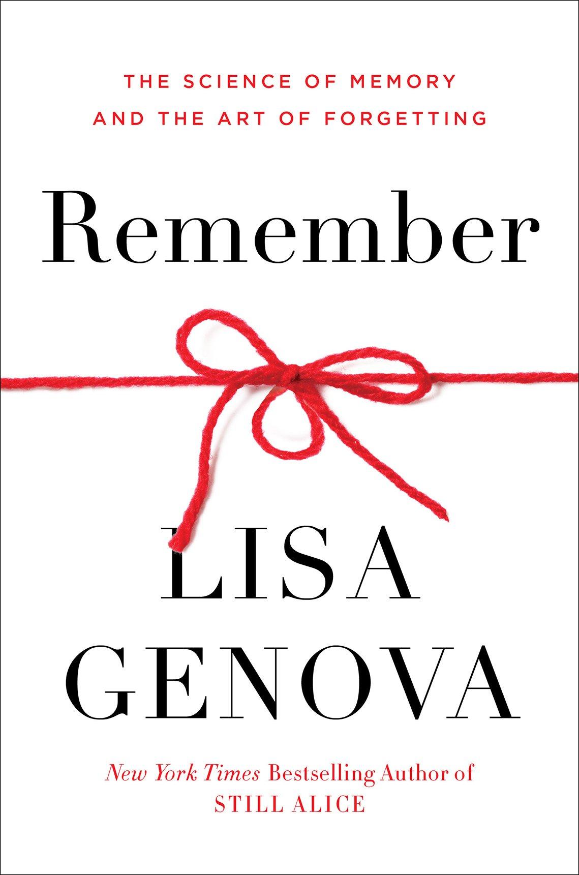 "Portada del libro ""Remember"" por Lisa Genova."