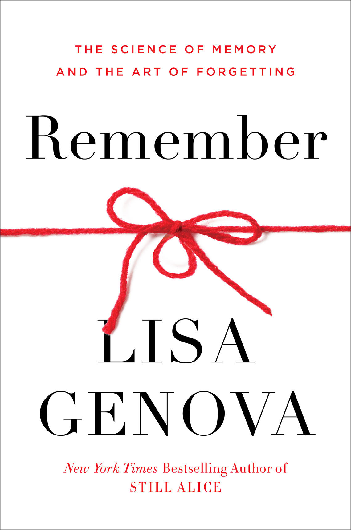 remember book cover by author lisa genova
