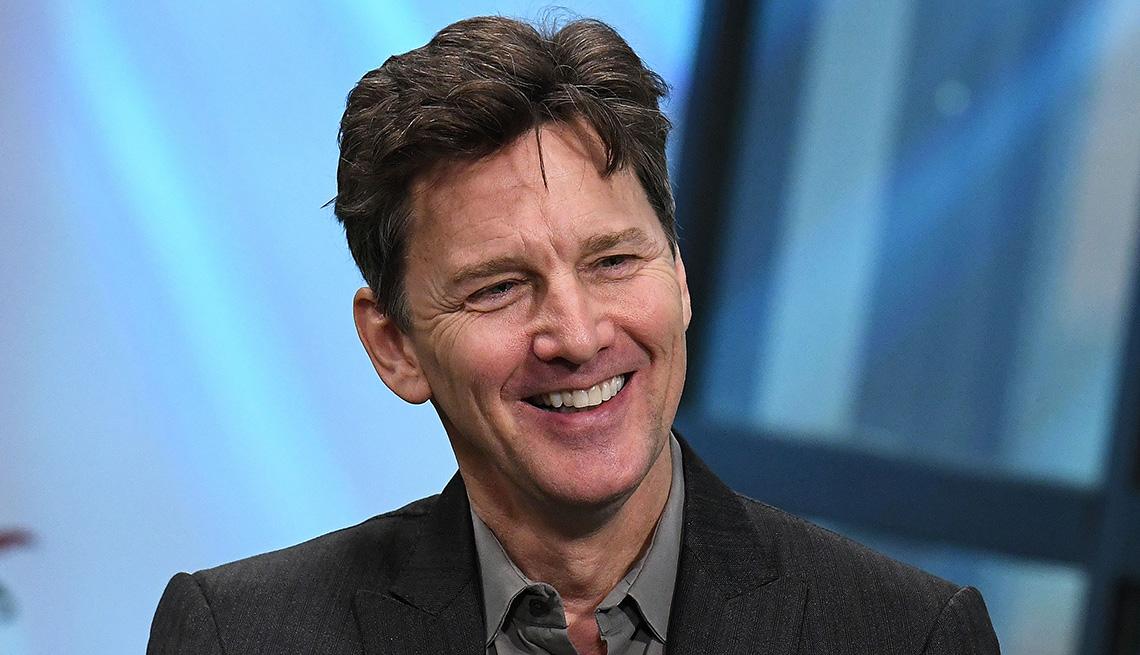 Escritor, autor, director y actor Andrew McCarthy.