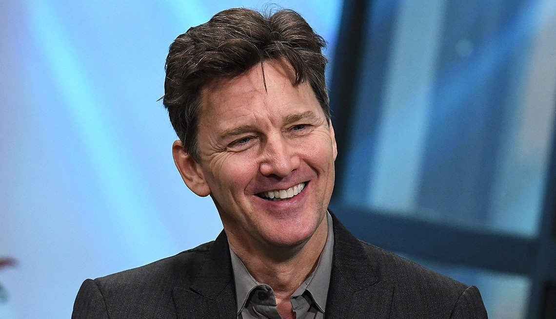 Writer, author, director and actor Andrew McCarthy