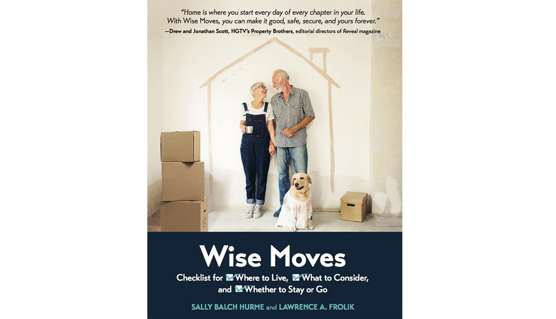 AARP's Wise Moves book cover