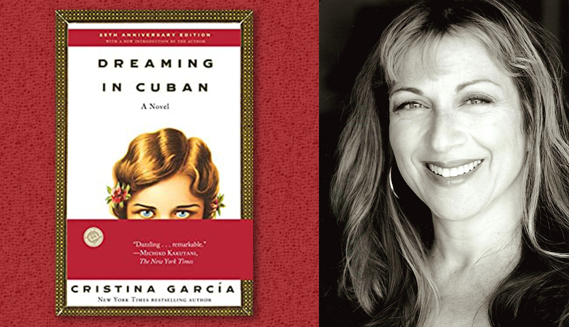 item 8 of Gallery image - author cristina garcia and her book dreaming in cuban