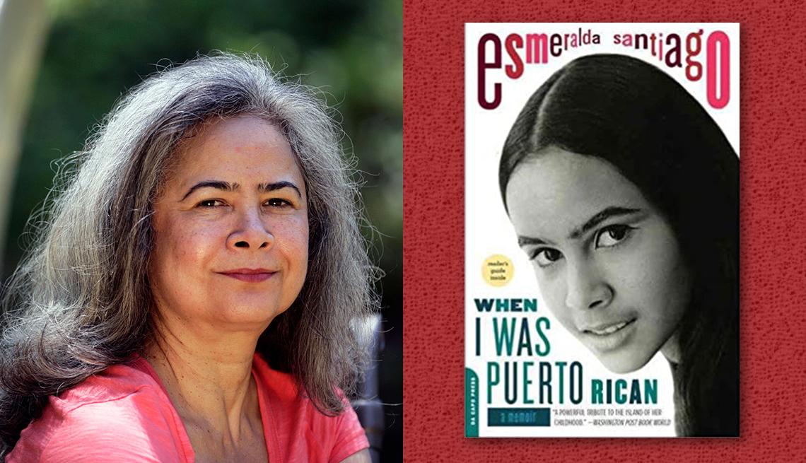 item 3 of Gallery image - author esmerelda santiago and her book when i was puerto rican