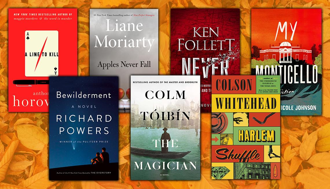 anthony horowitz richard powers liane moriarty colm tóibín ken follett colson whitehead jocelyn nicole johnson new fiction books for fall