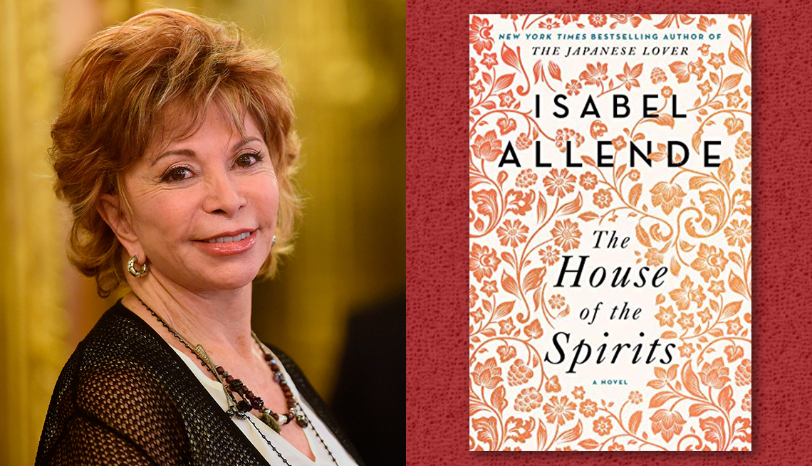 item 2 of Gallery image - author isabel allende and her book house of the spirits