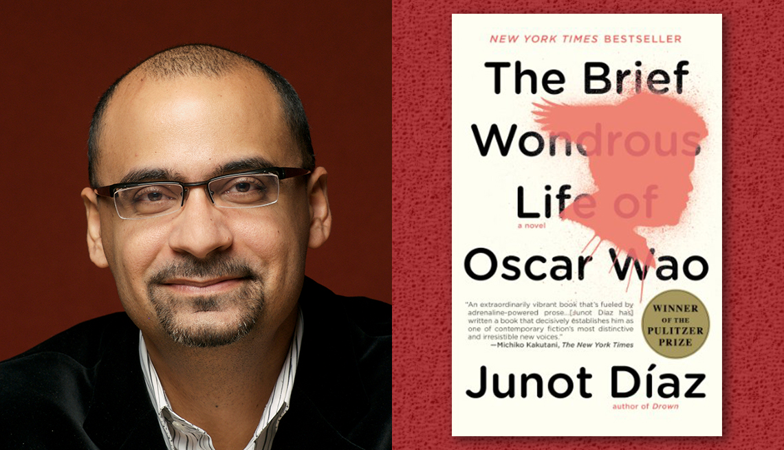 item 10 of Gallery image - author junot diaz and his book the brief wondrous life of oscar wao