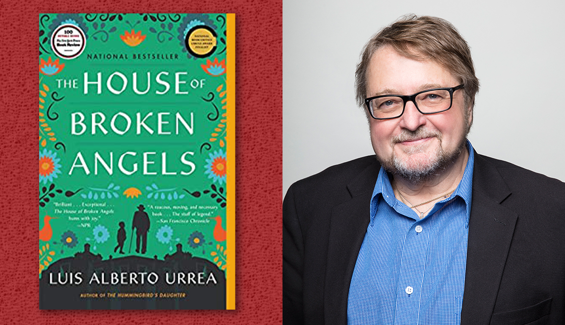 item 7 of Gallery image - author luis alberto urrea and his book the house of broken angels