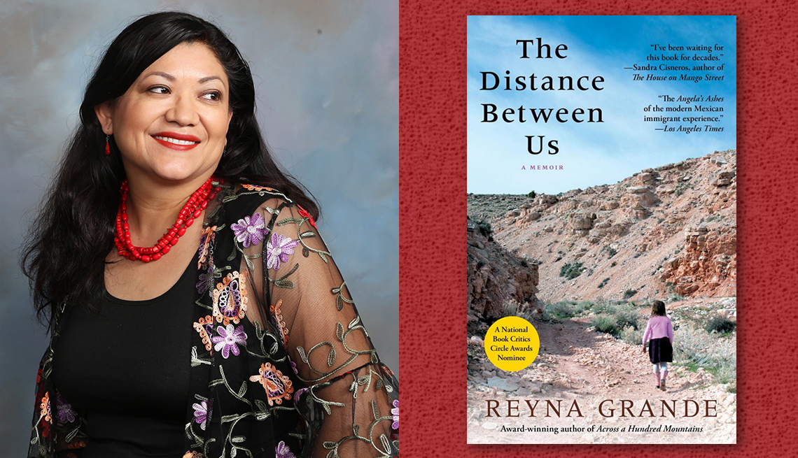 item 11 of Gallery image - author reyna grande and her book the distance between us