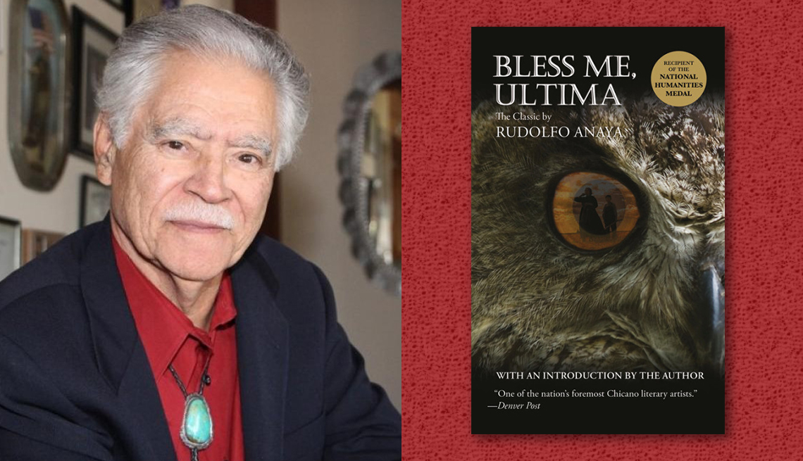 item 1 of Gallery image - author rudolfo anaya and cover of his book bless me ultima