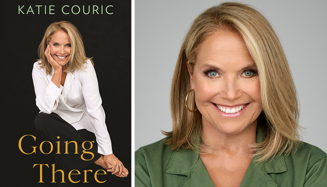 katie couric and her book titled going there