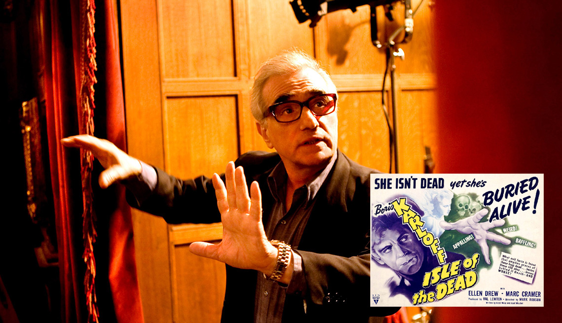 Director Martin Scorsese On The Set Of Filming Shutter Island, AARP Entertainment, How Celebrities Face Their Worst Fears