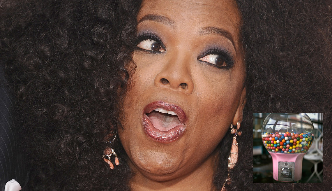 Television Personality Oprah Winfrey, AARP Entertainment, How Celebrities Face Their Worst Fears