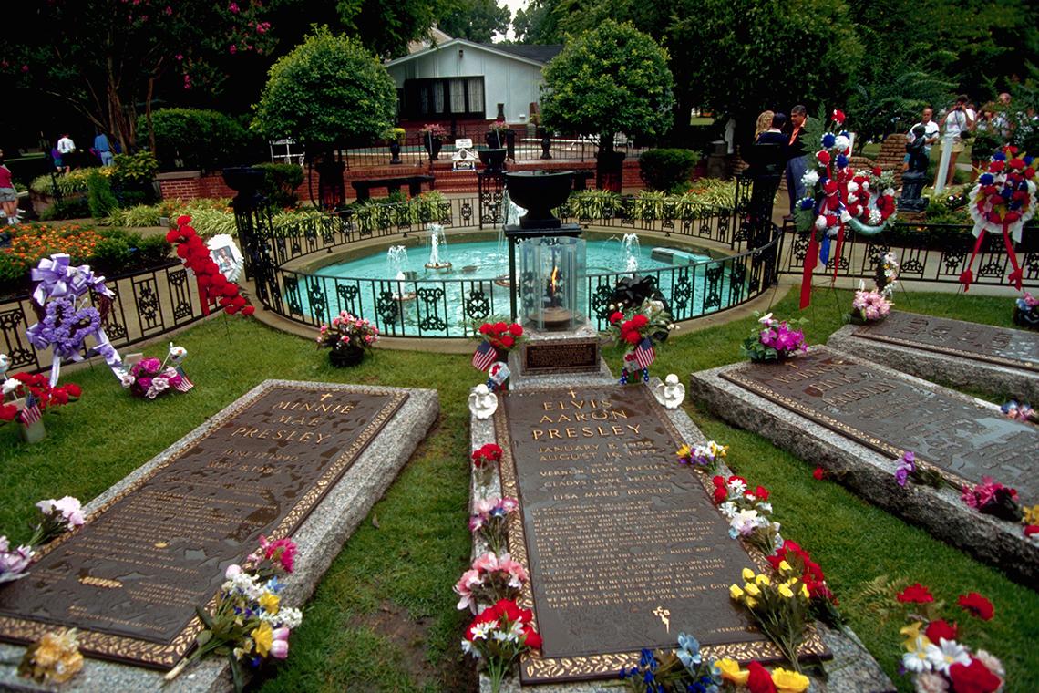 item 14 of Gallery image - Elvis' grave