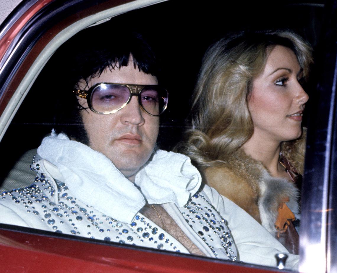 item 12 of Gallery image - Elvis and Linda Thompson