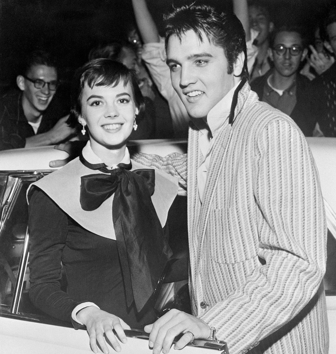 item 4 of Gallery image - Elvis and Natalie Wood