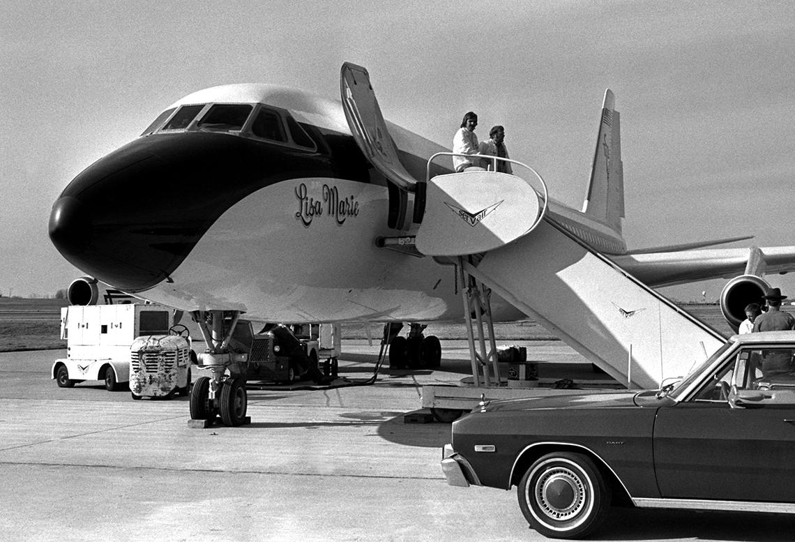 item 13 of Gallery image - Elvis' plane