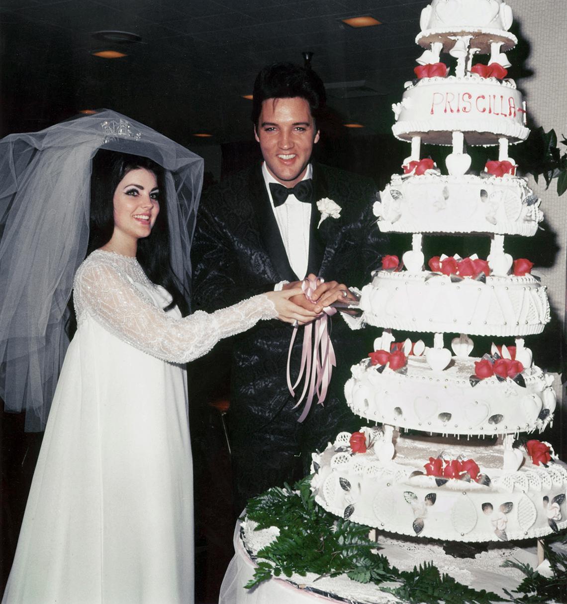 item 8 of Gallery image - Elvis and Priscilla Wedding