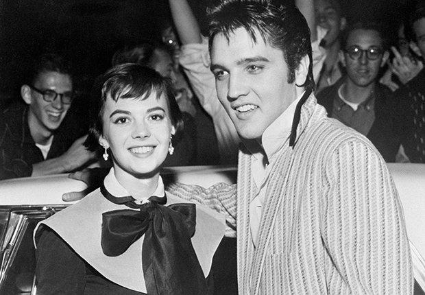 El rey del rock n roll con Natalie Wood - Elvis Presley, 40 años de su muerte