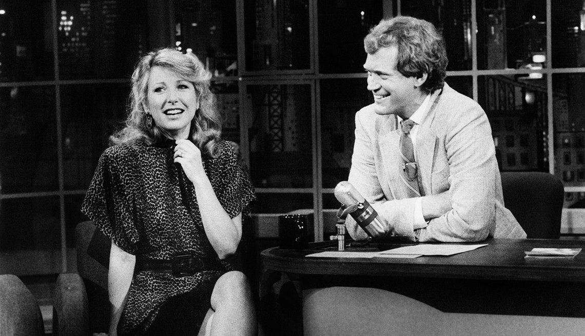 Teri Garr on the Late Show with David Letterman in 1985