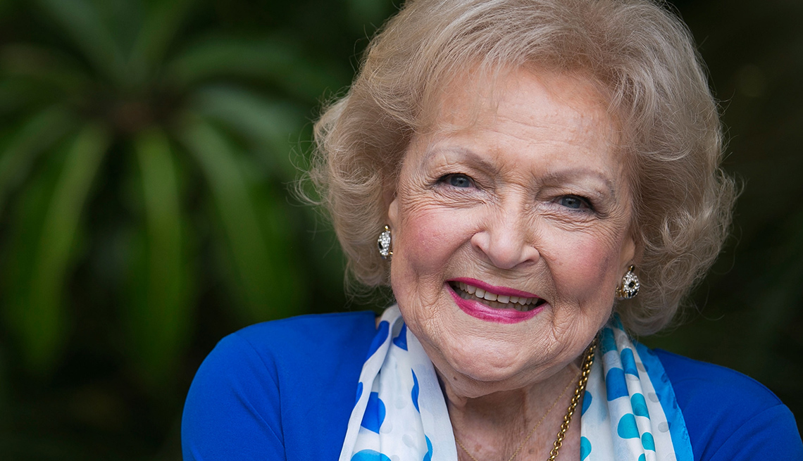 380857bb Betty White Shares Personal Secrets to a Long Life