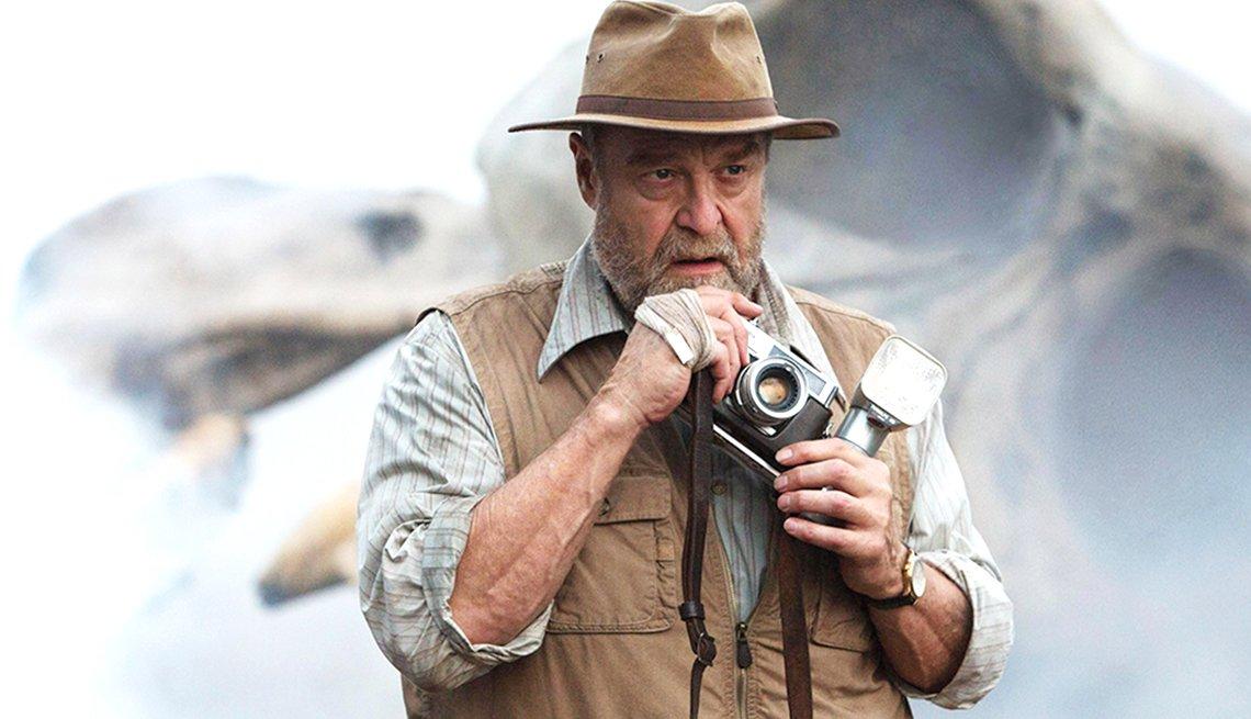 John Goodman in a scene from Kong: Skull Island