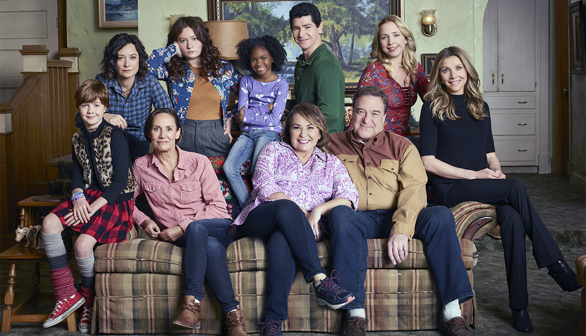 New Cast of Roseanne TV show