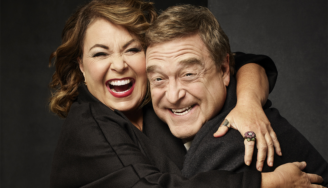 They Re Back Roseanne Barr And John Goodman