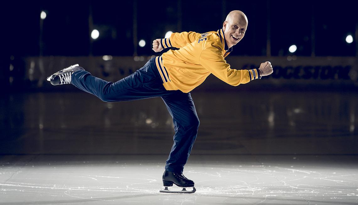 Scott Hamilton On Skates