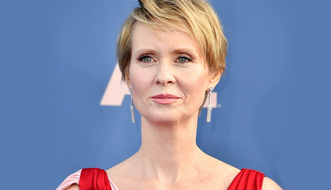 Actress and activist Cynthia Nixon