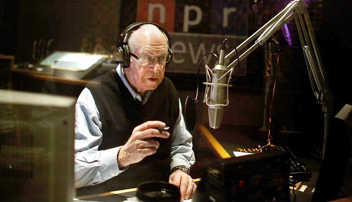 National Public Radio's Carl Kasell