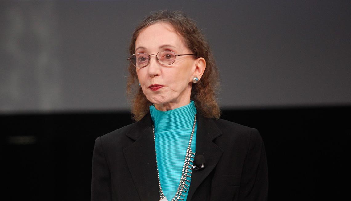 Headshot of Joyce Carol Oates