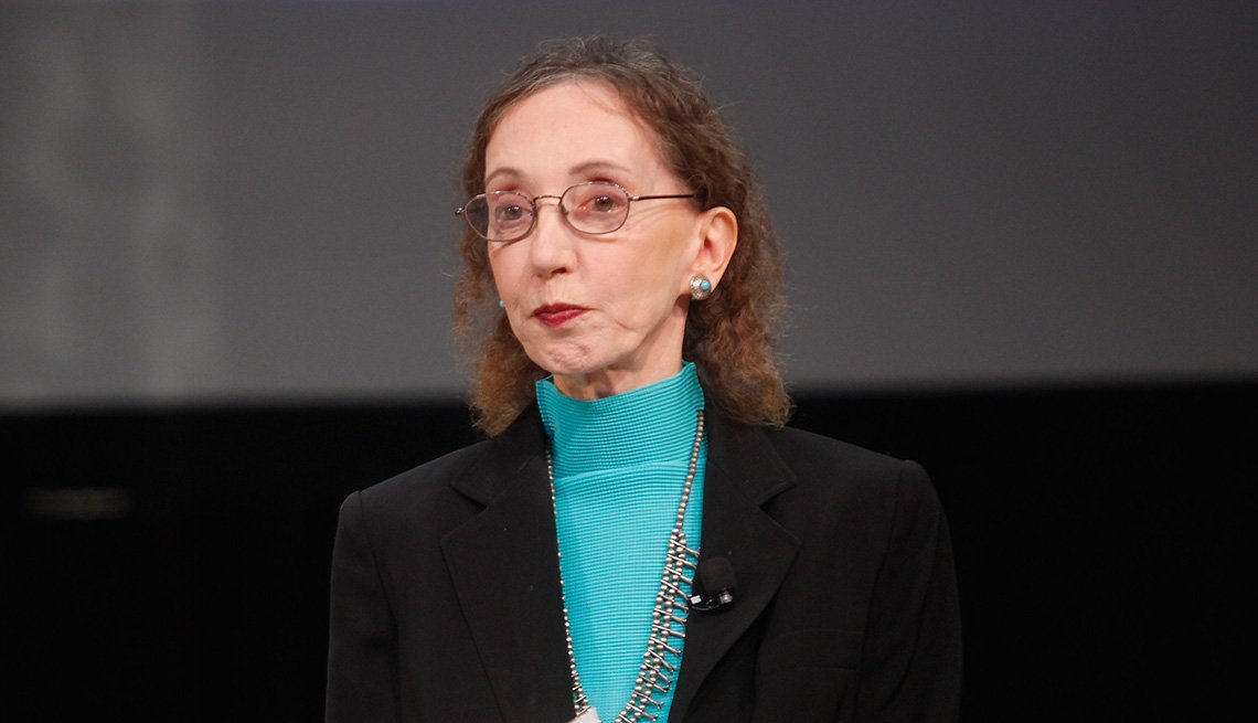 Headshot of Joyce Carol Oates