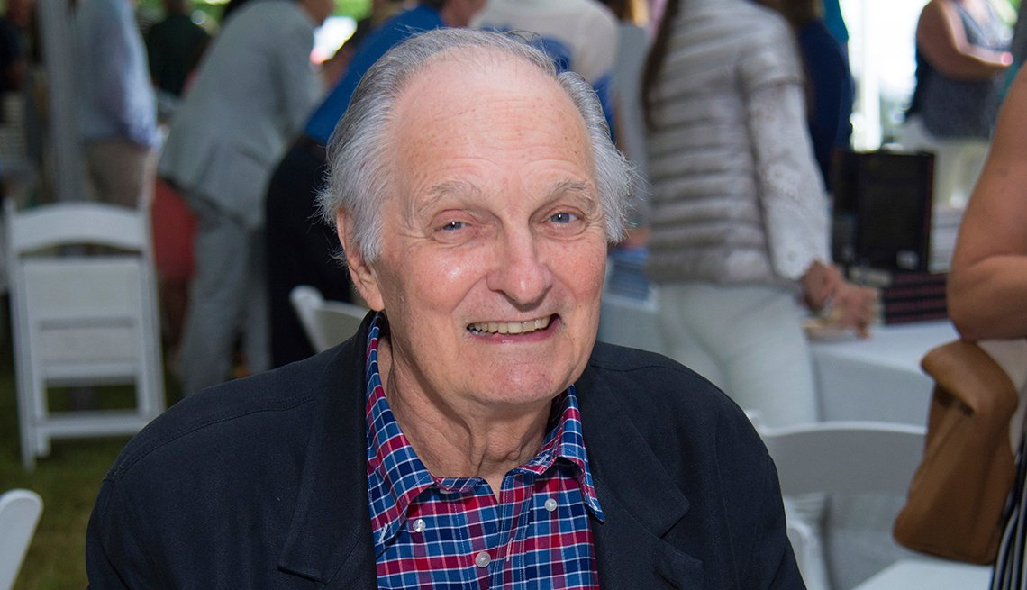 Actor Alan Alda in 2017
