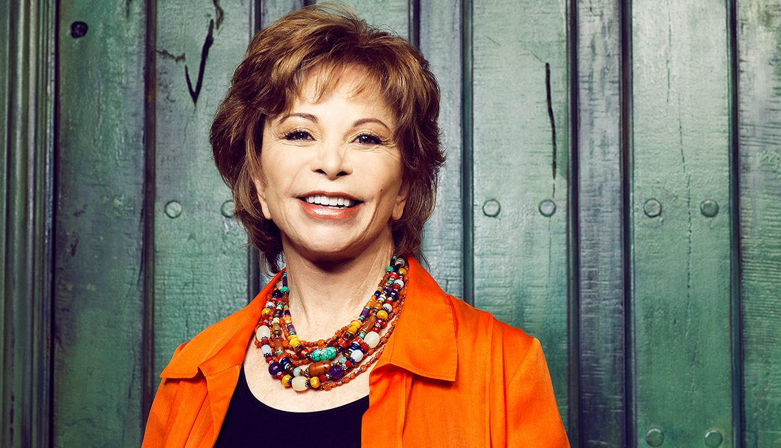 Headshot of Isabel Allende