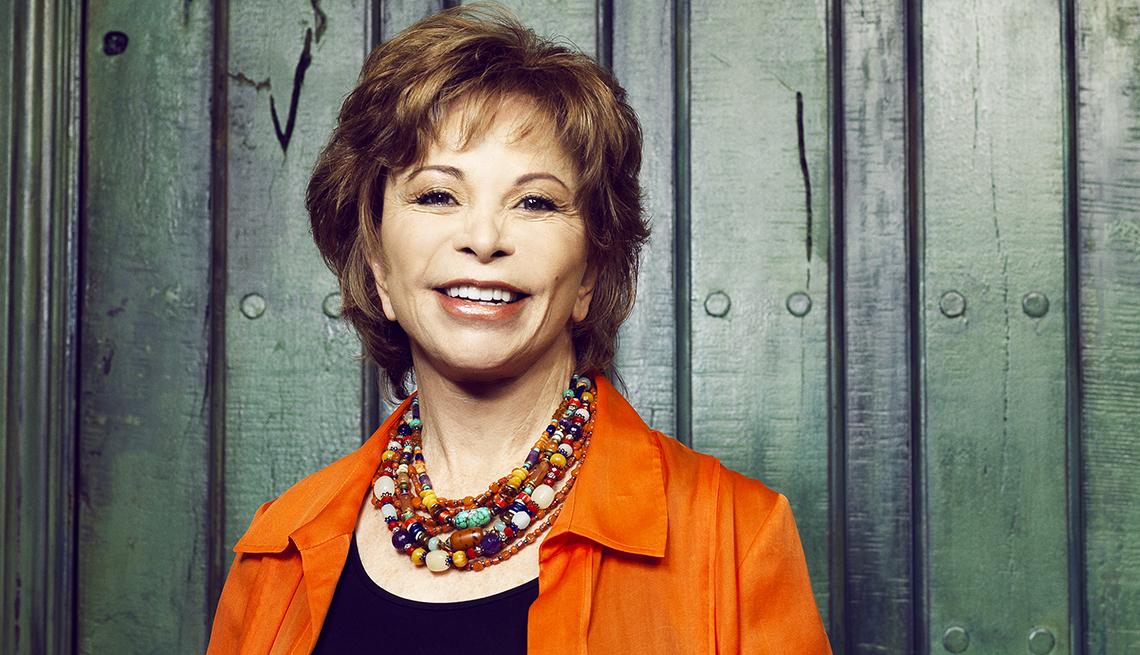 Headshot of Isabel Allende
