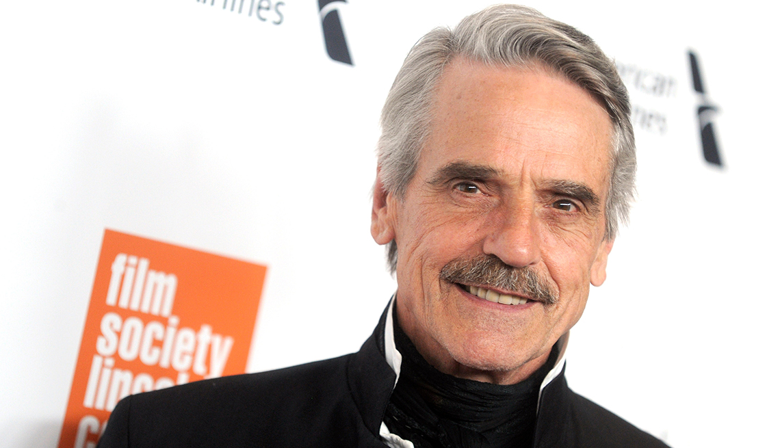 item 2 of Gallery image - Jeremy Irons smiling
