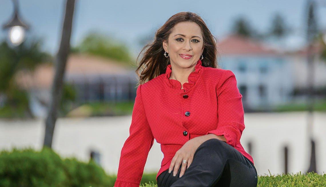 Periodista Neida Sandoval