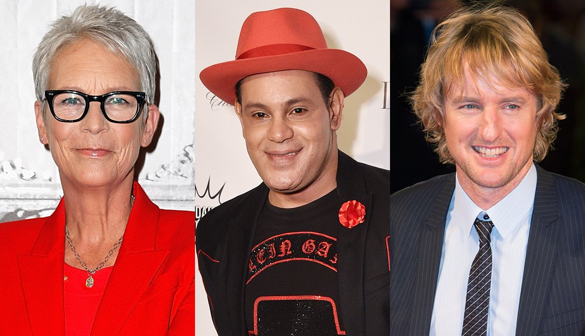 Jamie Lee Curtis, Sammy Sosa and Owen Wilson