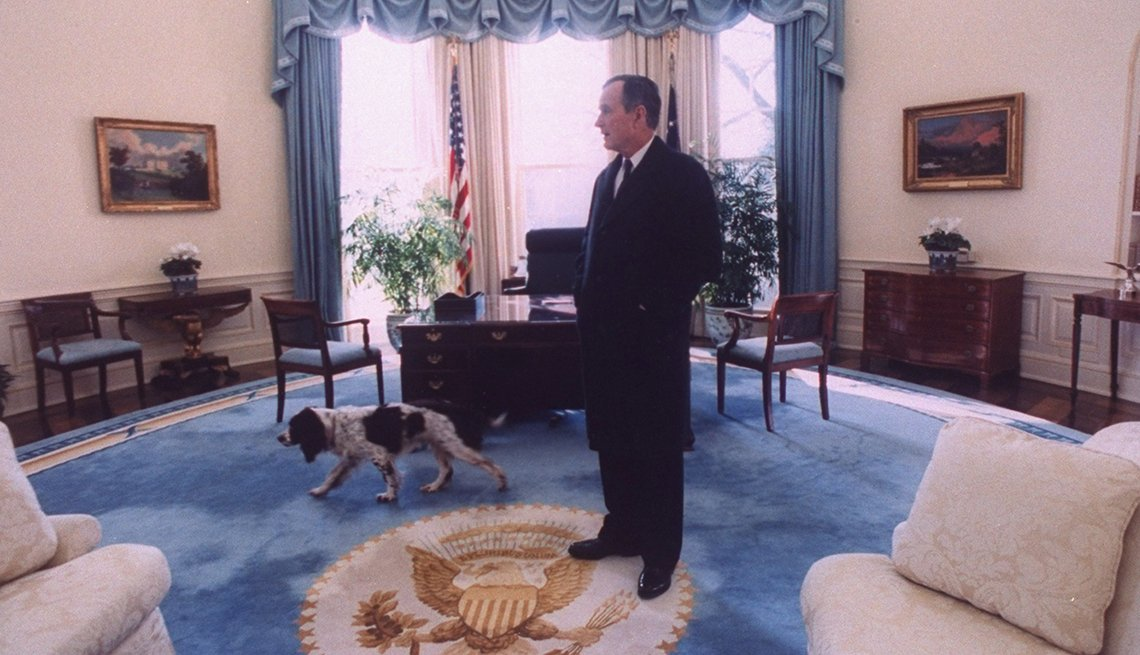 item 4 of Gallery image - President George H.W. Bush