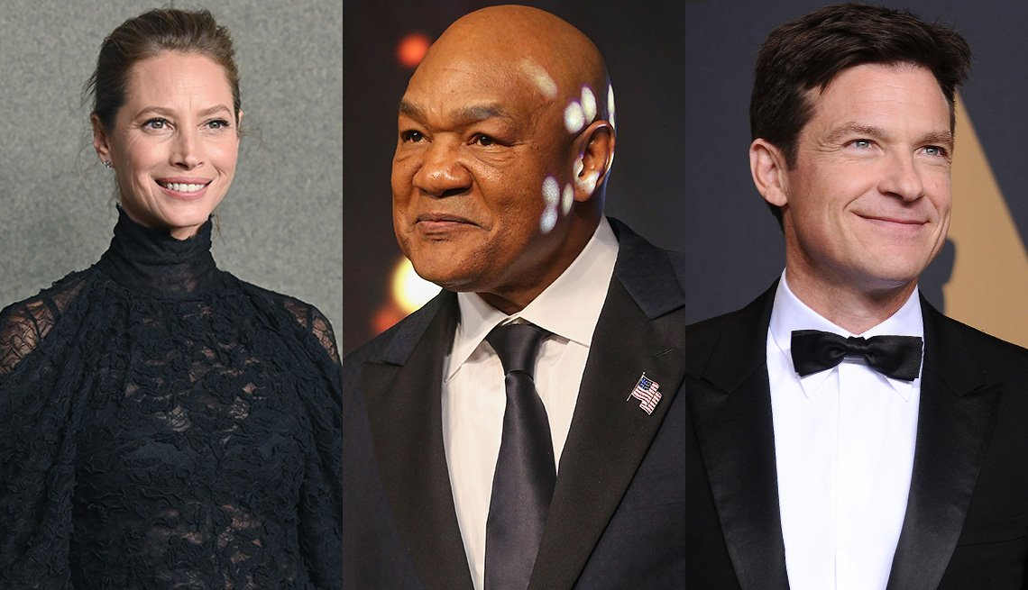 Photos of Christy Turlington, George Foreman, Jason Bateman