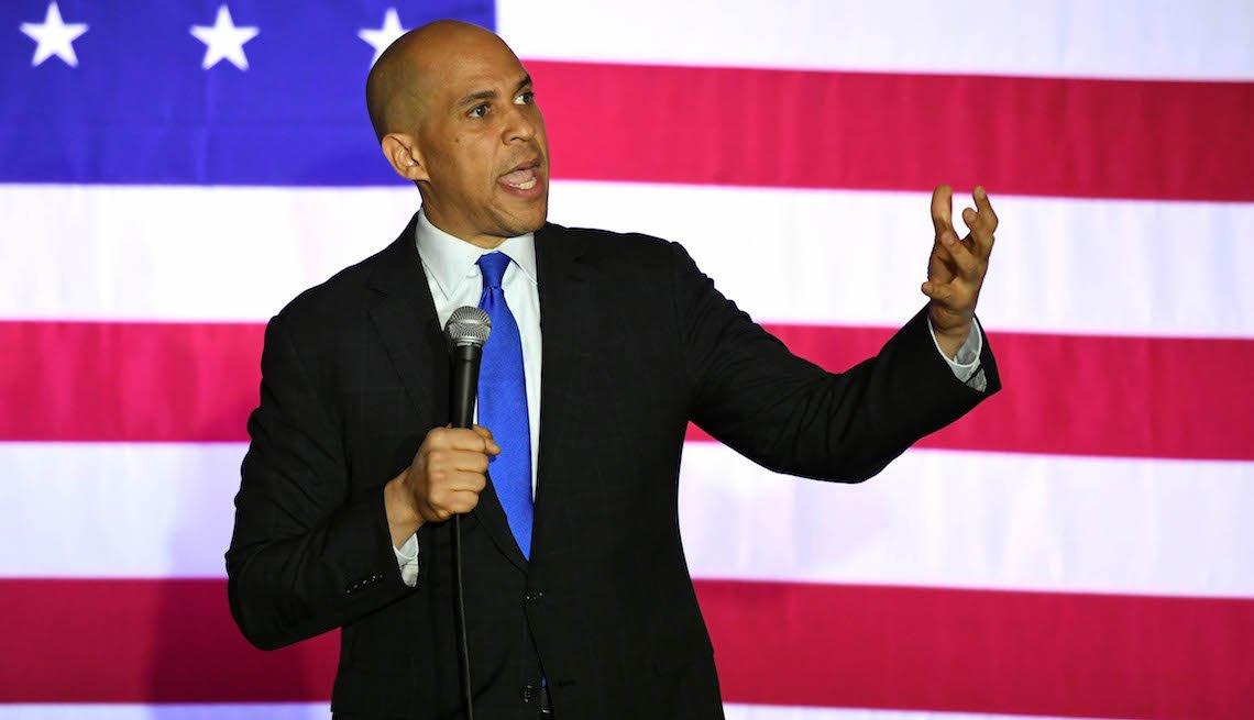 item 11, Gallery image. Cory Booker, Senador Demócrata de Nueva Jersey.