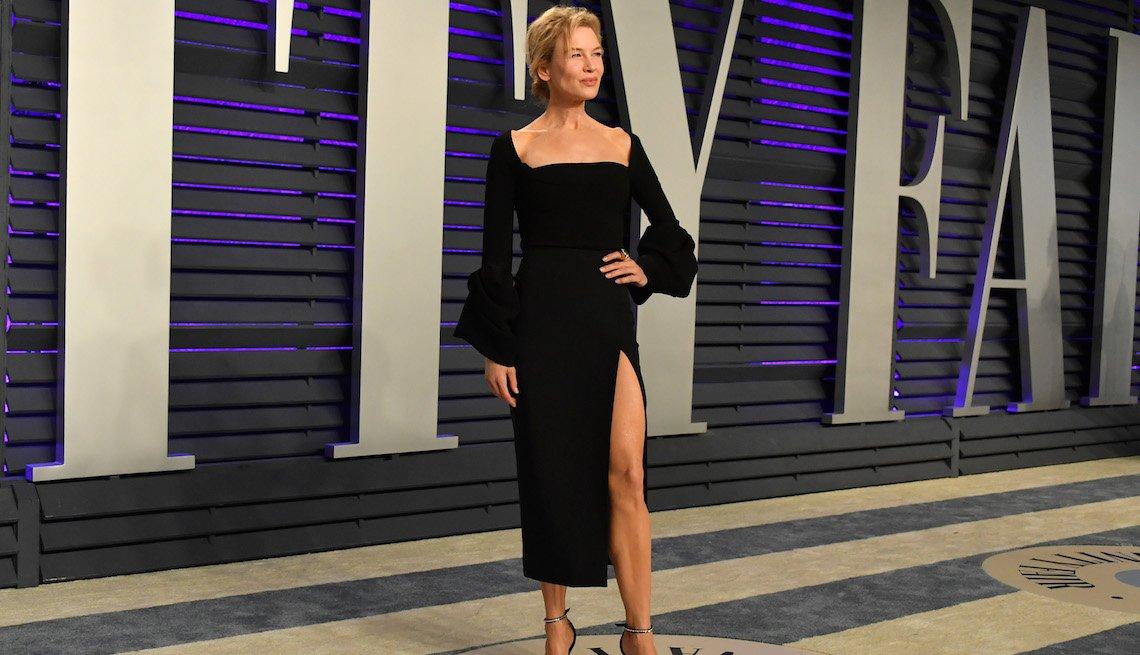 item 10, Gallery image. Renée Zellweger durante la fiesta del Óscar de Vanity Fair, Beverly Hills, California, 2019.
