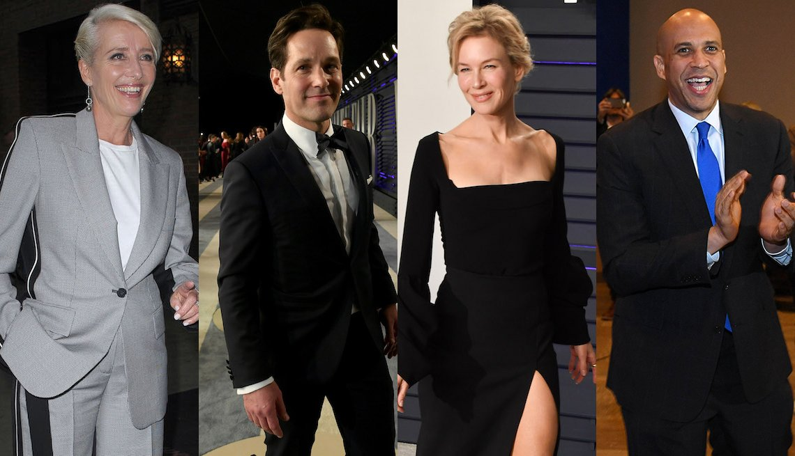 Emma Thompson, Paul Rudd, Renee Zellweger, Cory Booker