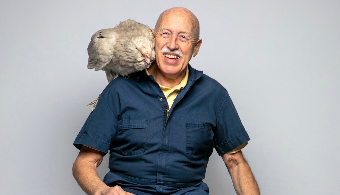 """Dr. Jan-Harm Pol, star of """"The Incredible Dr. Pol ,"""" at his Weidman, Michigan clinic"""