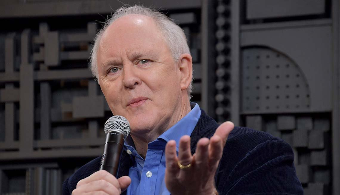 Actor John Lithgow takes part in the Cinema Cafe 6 discussion during the 2019 Sundance Film Festival