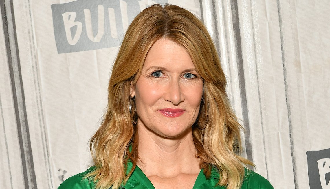 Laura Dern at Build Studio on May 15, 2019 in New York City.