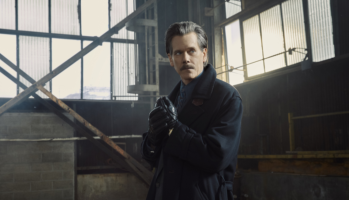 Kevin Bacon as Jackie Rohr in 'City on a Hill.'